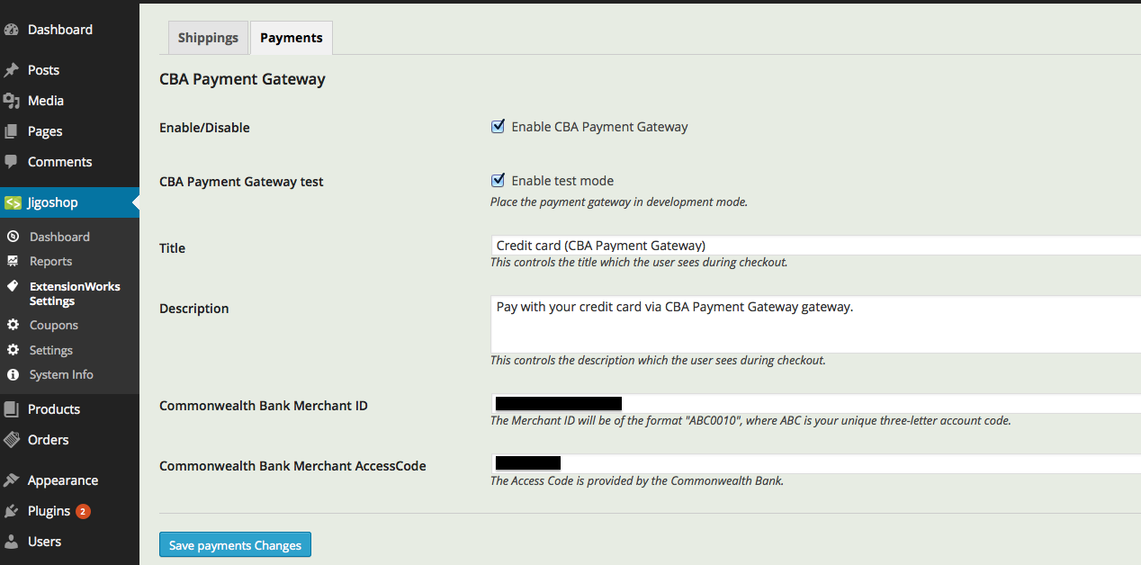 how to set up online payment gateway