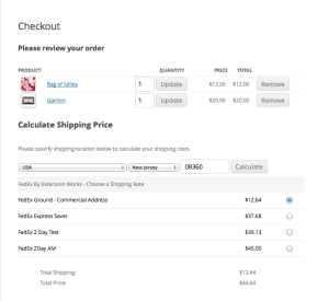 WP eCommerce FedEx