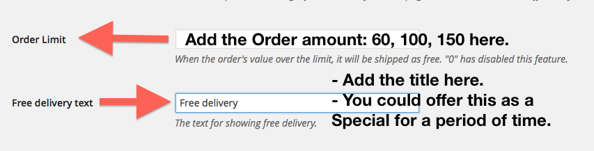 WooCommerce Order Limit